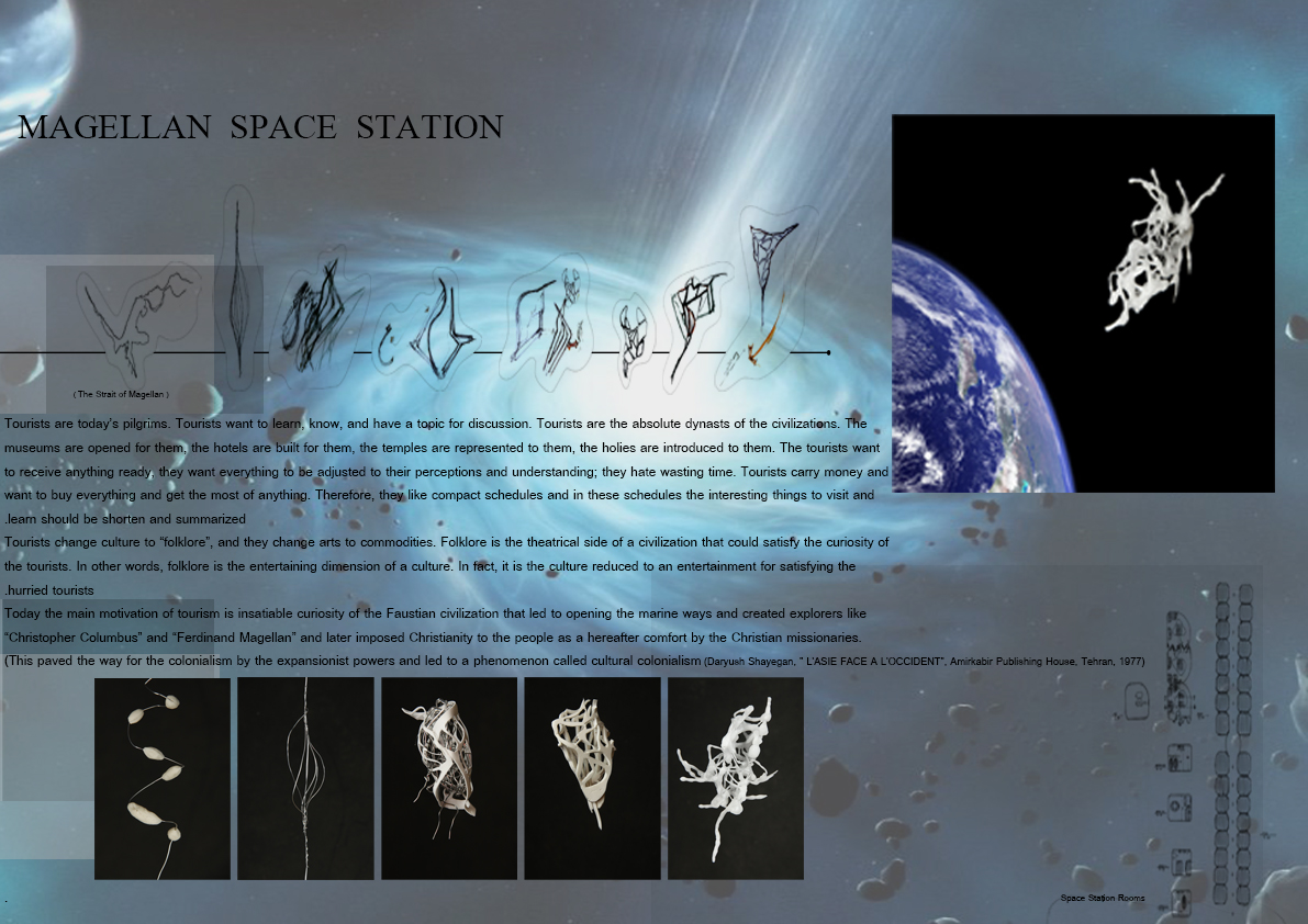 Space station architecture competition architecture for Importance of space in architecture